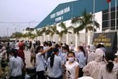 Hơn ngàn công nhân công ty Ivory Việt Nam ngừng việc