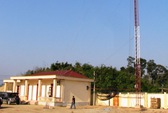 Sét đánh hỏng trạm thu phát sóng trên dốc Cổng Trời