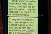Không trúng thầu, giám đốc gửi 713 tin nhắn lừa phụ huynh