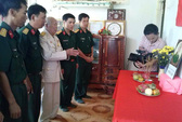 Người lính già 91 tuổi lập Ban thờ Đại tướng Võ Nguyên Giáp