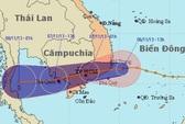 Áp thấp nhiệt đới vào miền Nam có thể không mạnh lên thành bão