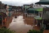 Quảng Ninh: Nước lũ cô lập thị trấn Tiên Yên