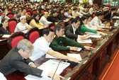 89,96% đại biểu tán thành thông qua Luật đất đai