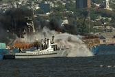 Uruguay bắt 2 thủy thủ Việt nghi gây cháy tàu Hàn