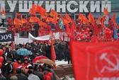 Đảng Cộng sản Nga biểu tình chống NATO