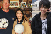Tìm thấy quả bóng bị sóng thần cuốn đến Alaska