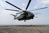 Trực thăng Hải quân Mỹ rơi ở vùng Vịnh