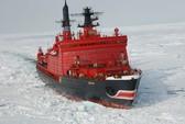 Nga đóng tàu phá băng cực đại