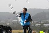 Bất chấp phong tỏa, truyền đơn vẫn bay sang Triều Tiên