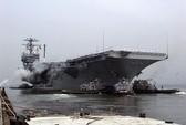 Tàu sân bay Mỹ âm thầm cập bờ Syria