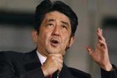 """Shinzo Abe: """"Chấm dứt sự thách thức của Trung Quốc"""""""