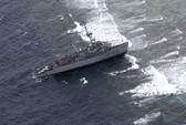 Tàu phá mìn Mỹ mắc cạn ở Philippines