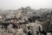 Quân nổi dậy Syria nã pháo dinh tổng thống