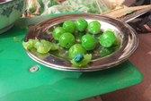 Thu giữ nhiều loại trái cây khô, mứt nghi làm bằng nhựa