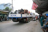 Bị xe tải tông chết trên đường về nhà