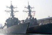 Tàu khu trục tên lửa Mỹ chốt ngoài khơi Hàn Quốc