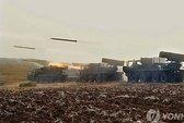 """""""Đại bàng non"""" hạ cánh, Triều Tiên tập trận lớn"""