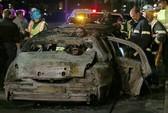 Cô dâu chết cháy trong xe limousine