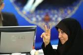 Nữ ứng viên tổng thống Iran đầu tiên lộ diện