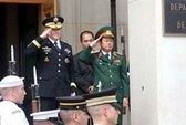 Tổng Tham mưu trưởng QĐND VN thăm Lầu Năm Góc