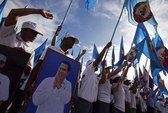 Dân Campuchia đi bỏ phiếu bầu quốc hội