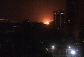 Tàu ngầm của Ấn Độ nổ và bốc cháy