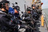 Hải quân ASEAN tập trận chung trên biển Đông