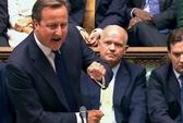 Quốc hội Anh không cho đánh Syria