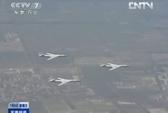 Nhật tung chiến đấu cơ vì máy bay ném bom Trung Quốc