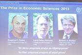 3 nhà khoa học Mỹ đoạt giải Nobel Kinh tế