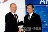Tổng thống Putin ca ngợi quan hệ Việt - Nga
