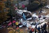 """Trực thăng """"chém"""" cao ốc ở Seoul, 2 người chết"""