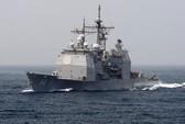 Máy bay không người lái đâm xuống tàu chiến Mỹ