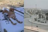 Tuyết rơi ở Ai Cập lần đầu tiên trong 100 năm
