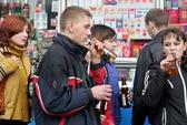 Nga mạnh tay với bia