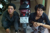 Cảnh sát giao thông bắt cướp