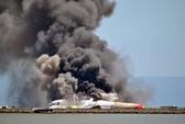 Vụ máy bay bốc cháy ở Mỹ: Phi công thiếu kinh nghiệm?