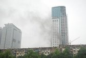 Cháy lớn ở tòa nhà cao nhất TP Vinh