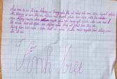 Một học sinh lớp 5 tự tử, để lại thư tuyệt mệnh?