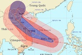 Đảo Song Tử Tây gồng mình dưới siêu bão Haiyan