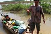 Săn cá lăng trên lòng hồ Phước Hòa