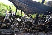 Hỏa hoạn thiêu rụi 28 xe máy
