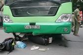 TP.HCM: Nam thanh niên thoát chết dưới gầm xe buýt