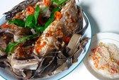 Đê mê với cá đuối nướng muối ớt