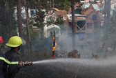 Đà Lạt: Cháy trong khuôn viên Dinh Tỉnh trưởng cũ