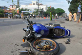 3 xe máy tông nhau, 3 người bị trọng thương
