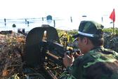 Diễn tập đánh địch đổ bộ bằng đường biển tại Lý Sơn
