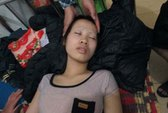 Thiếu nữ bị đánh đập dã man