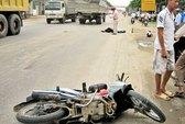 Ô tô tông xe máy, một người tử vong