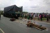 Tai nạn giao thông thương tâm hai mẹ con chết thảm